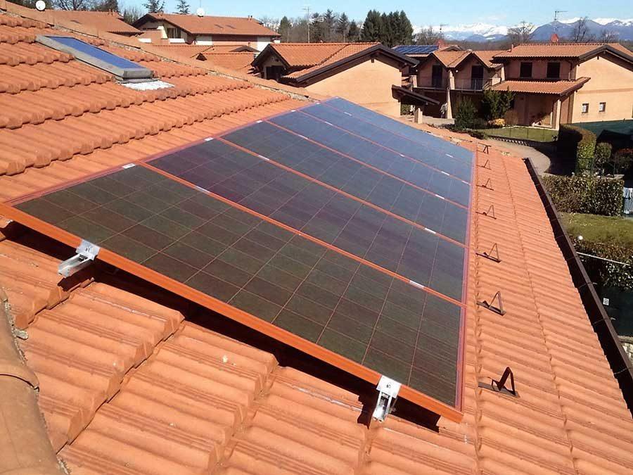 Impianto fotovoltaico Caronno Varesino