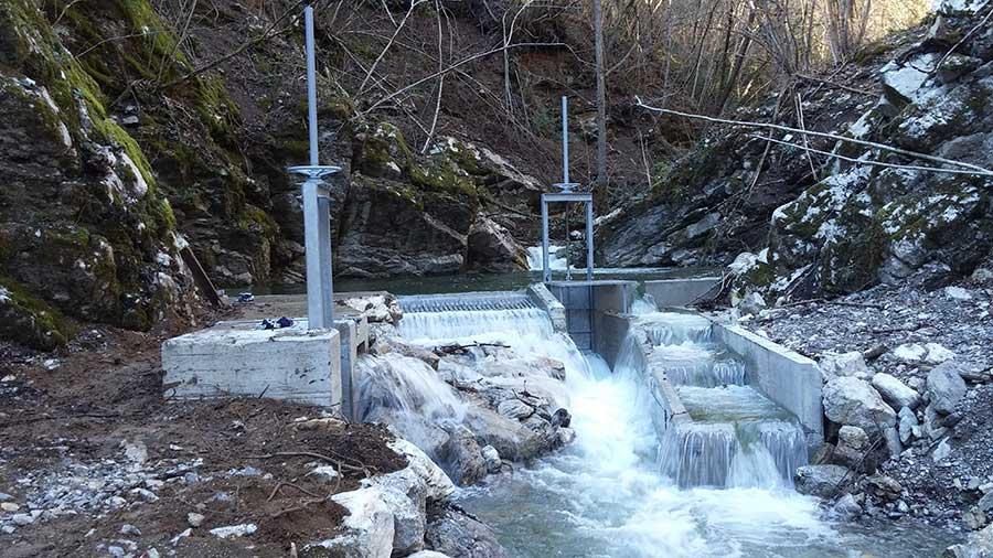 Impianto idroelettrico Torrente Agna – Vobarno